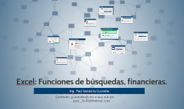 05. Excel 2013: Funciones de búsquedas, financieras.