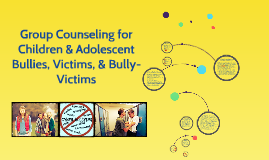 Group Counseling for Children & Adolescent Victims of Bullyi
