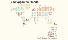 Corrupção no Mundo