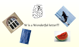 Copy of Letter W