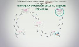 Copy of Copy of EVALUACIÓN DESDE EL ENFOQUE FORMATIVO