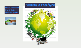 EQUILIBRIO ECOLÓGICO