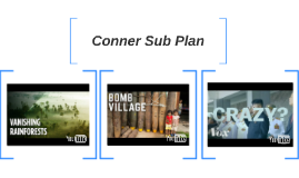 Conner Sub Plan