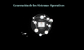 Generación de los sistemas  operativos