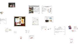 Copy of MORFOLOGÍA DE MAMIFEROS