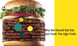 Why We Should Not Eat Fast Food: The Ugly Truth