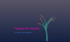 Fisiologia de la Digestión.