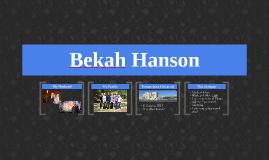 Bekah Hanson
