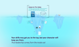 Image one: The Iceberg
