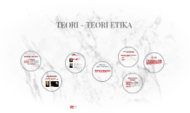 TEORI - TEORI ETIKA