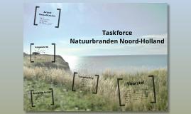 Aanpak Natuurbranden Noord-Holland