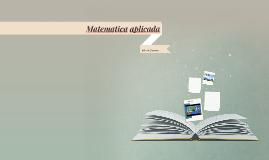 Ejercicios Matematica Aplicada