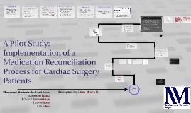 Copy of Pilot Medication Reconciliation Program for Cardiovascular S
