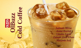OlBuzz cold Coffee - Line Extension of Olpers