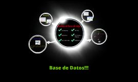 Base de Datos!!!