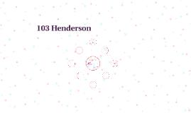 103 Henderson