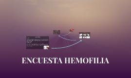 ENCUESTA HEMOFILIA