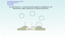 FABRICATION OF A CARBON BASED IMMUNO-BIOSENSOR FOR HEPATITIS