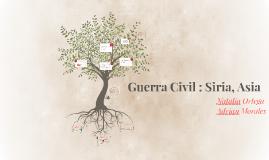 Guerra Civil : Siria, Asia