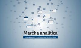 Marcha analitica