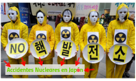 accidentes nucleares en japón