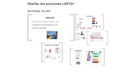 Réalités des personnes LGBTQ