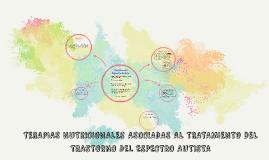 TERAPIAS NUTRICIONALES ASOCIADAS AL TRATAMIENTO DEL TRASTORN