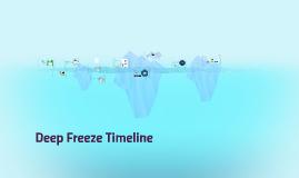 Deep Freeze Timeline
