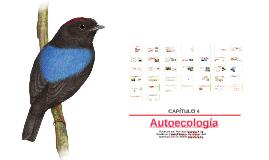 Capítulo 4. autoecologia y ecología de poblaciones