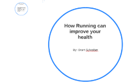 How Running can help your health