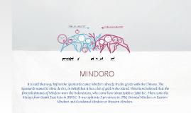 Copy of Mimaropa(Mindoro)