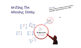 Writing the Winning Essay