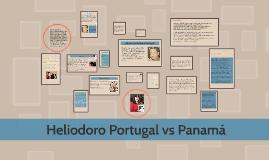 Heliodoro Portugal vs Panamá