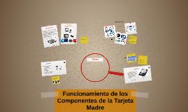 Copy of Copy of Funcionamiento de losComponentes de la Tarjeta Madre