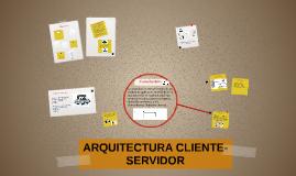 Copy of Arquitectura Cliente-Servidor