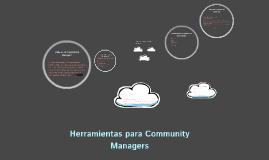 Herramientas Para Community Managers