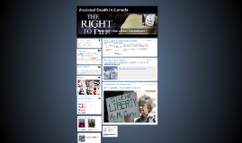 Assisted Death in Canada