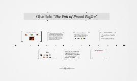 Obadiah: The Fall of Proud Eagles