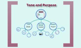 How do tone and purpose interplay?