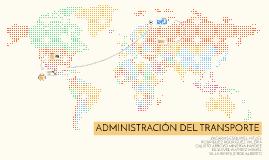 Administración del transporte