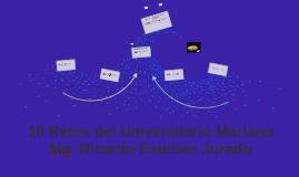 10 Retos del Universitario Mariano