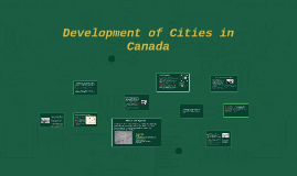 Urbanization and Development of Canada