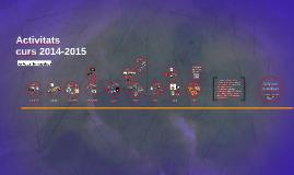 Memòria d'Activitats AMPA 2014-2015
