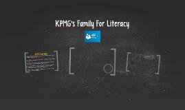KPMG's Family For Literacy