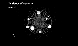 Evidence of water in space!!