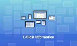 E-Blast Calendar