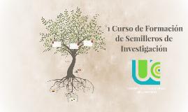 °1 Curso de Formación de Semilleros de Investigación