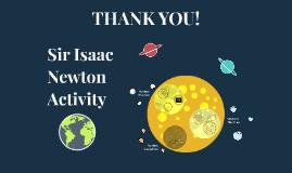 Sir Isaac Newton Activity