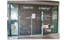 """Should I stay or should I go?"" - Widersprüchliche Environment-Behaviour-Settings in Lernumgebungen"