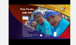 Ciclo Escolar
